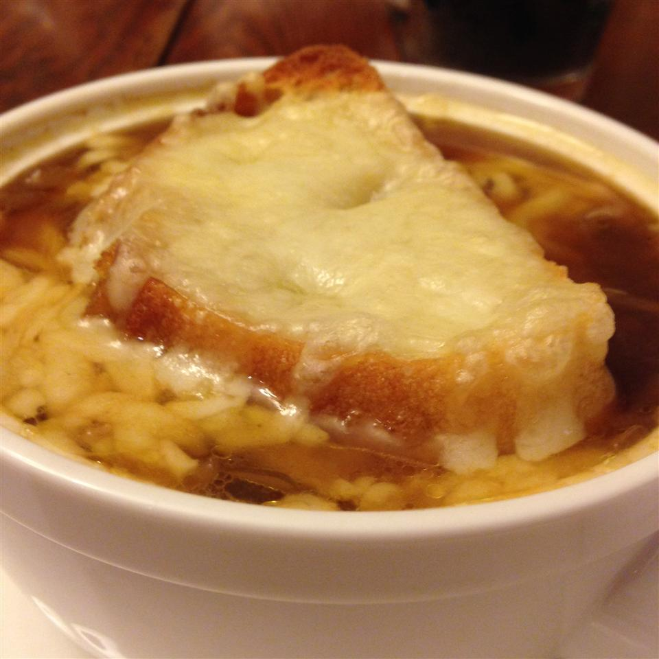 Slow Cooker French Onion Soup HeatherW