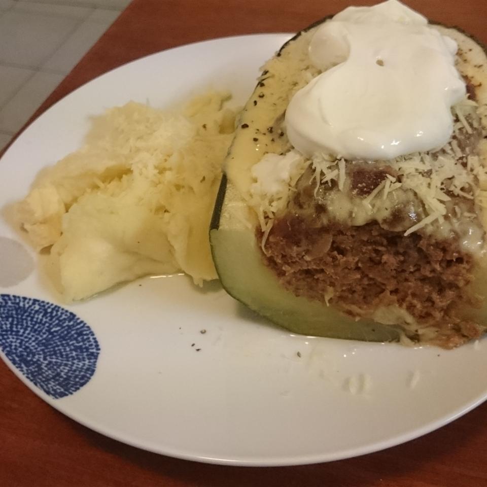 Easy Stuffed Zucchini