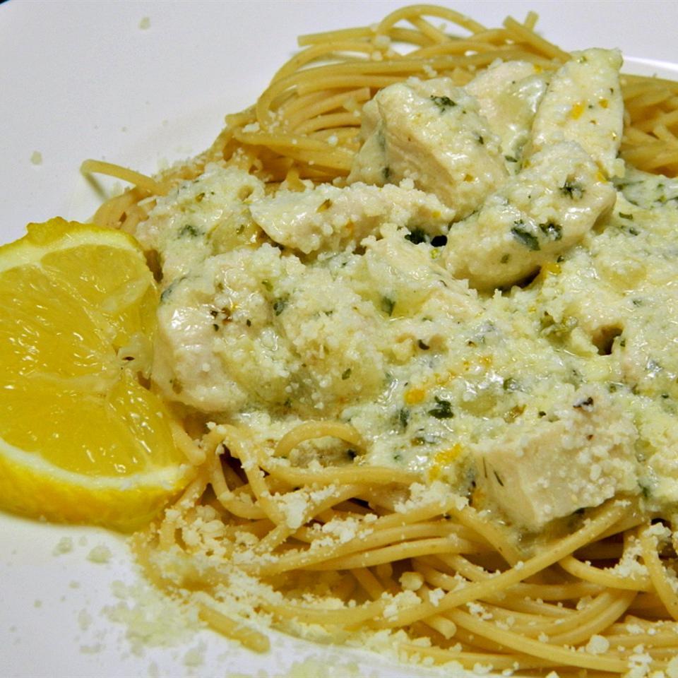 Chicken Lemon Linguine