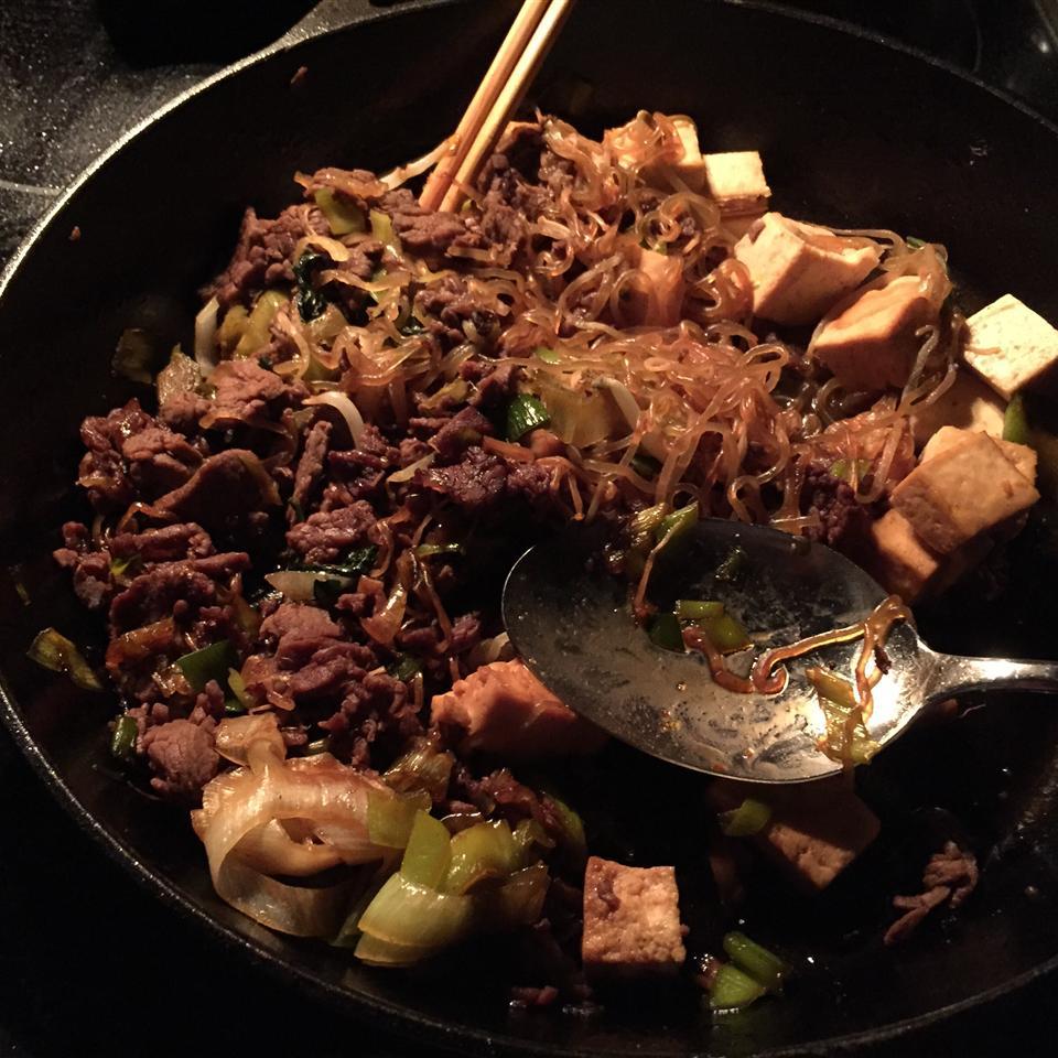 Sukiyaki Beef A pet Walker is in heaven.