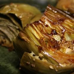Garlic Sauteed Artichokes Chicken_Livers_Stink