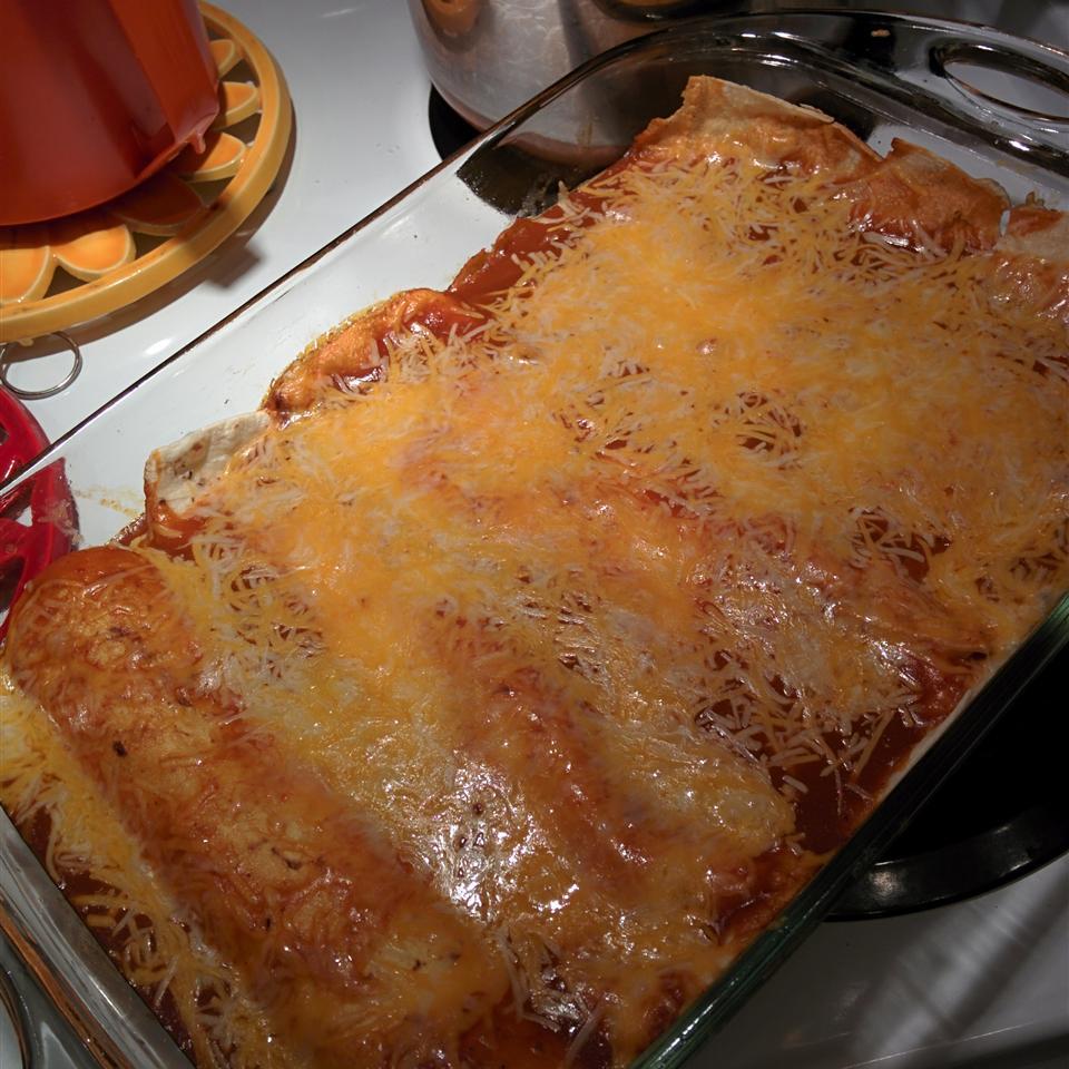 Vegetarian Black Bean Enchiladas Xavier13