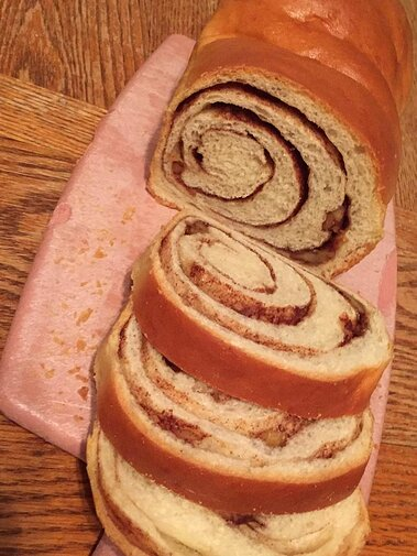 Cinnamon Swirl Bread For The Bread Machine Recipe Allrecipes