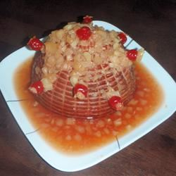 Rita's Sweet Holiday Baked Ham zac-da-chef