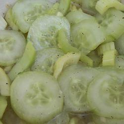 Marinated Vegetable Salad pomplemousse