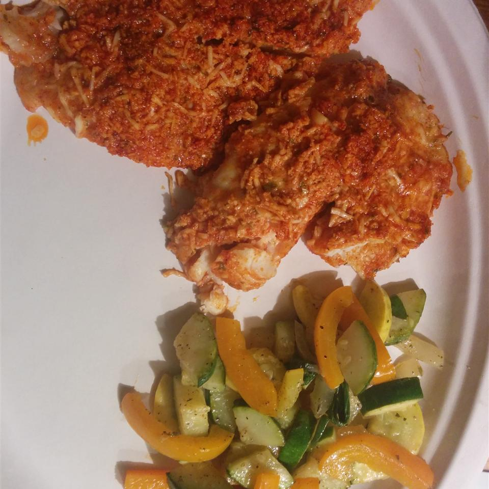 Parmesan Crusted Tilapia Fillets alindke