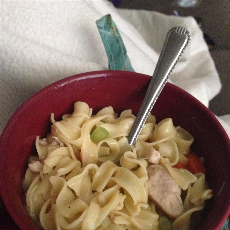 Chef John's Homemade Chicken Noodle Soup