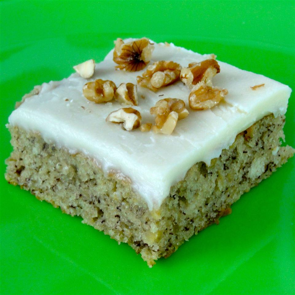 Banana Bread Bars with Brown Butter Frosting SHORECOOK