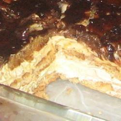 No-Bake Chocolate Eclair Cake Trish Beier