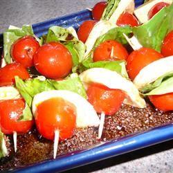 Tomato and Mozzarella Bites lovestohost