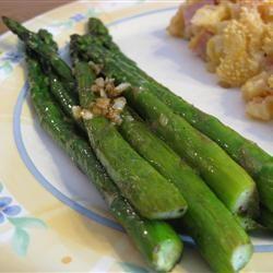 Pan-Fried Asparagus Dianne