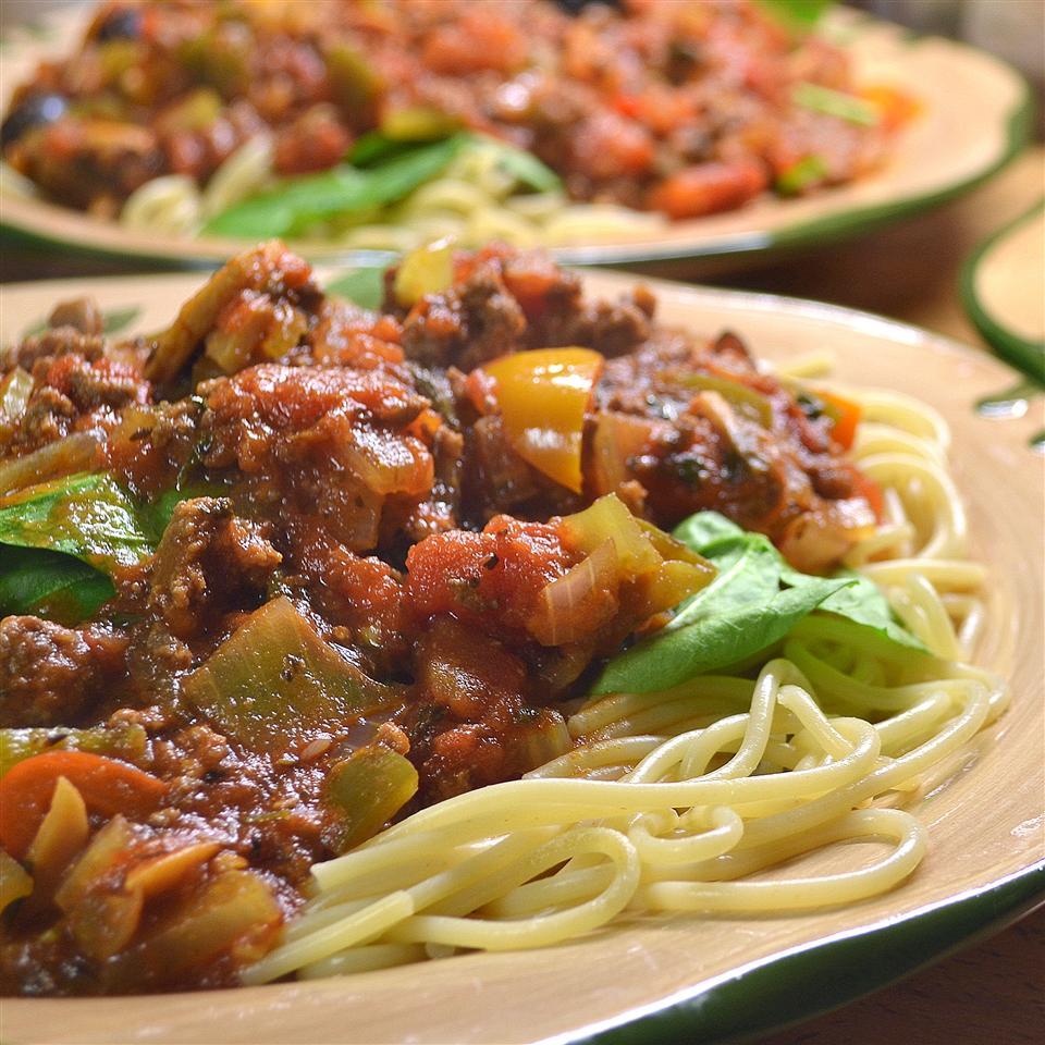 Lots O'Veggies Sausage Spaghetti Sauce *Sherri*