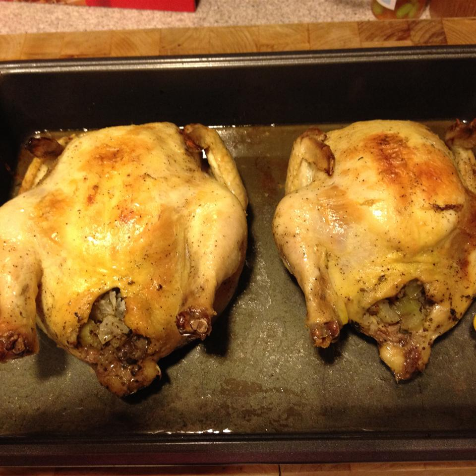 Baked Cornish Game Hens