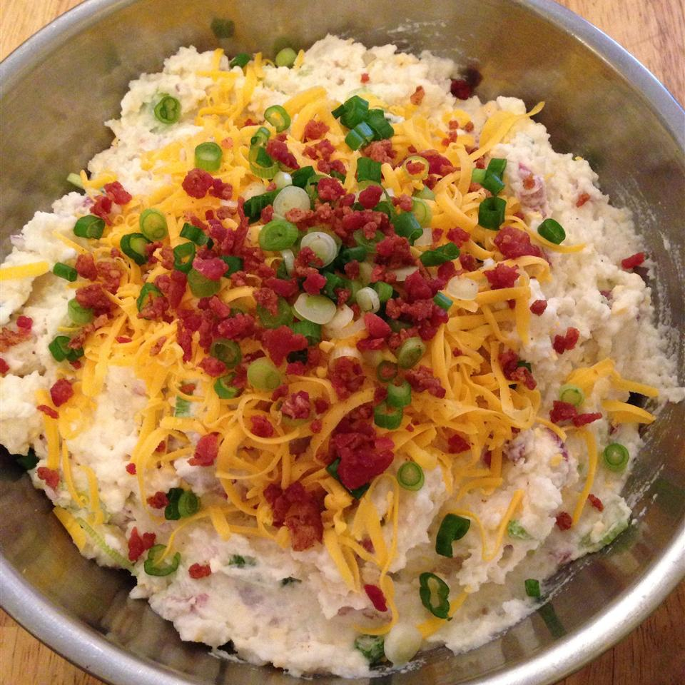 Cheesy Potato Salad Auty Lynn
