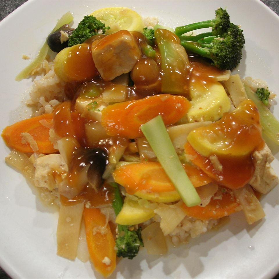 Vegetable and Tofu Stir-fry