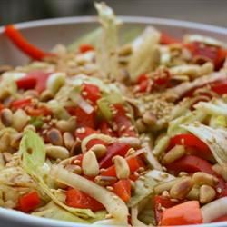 Red Pepper and Fennel Bulb Salad doesje