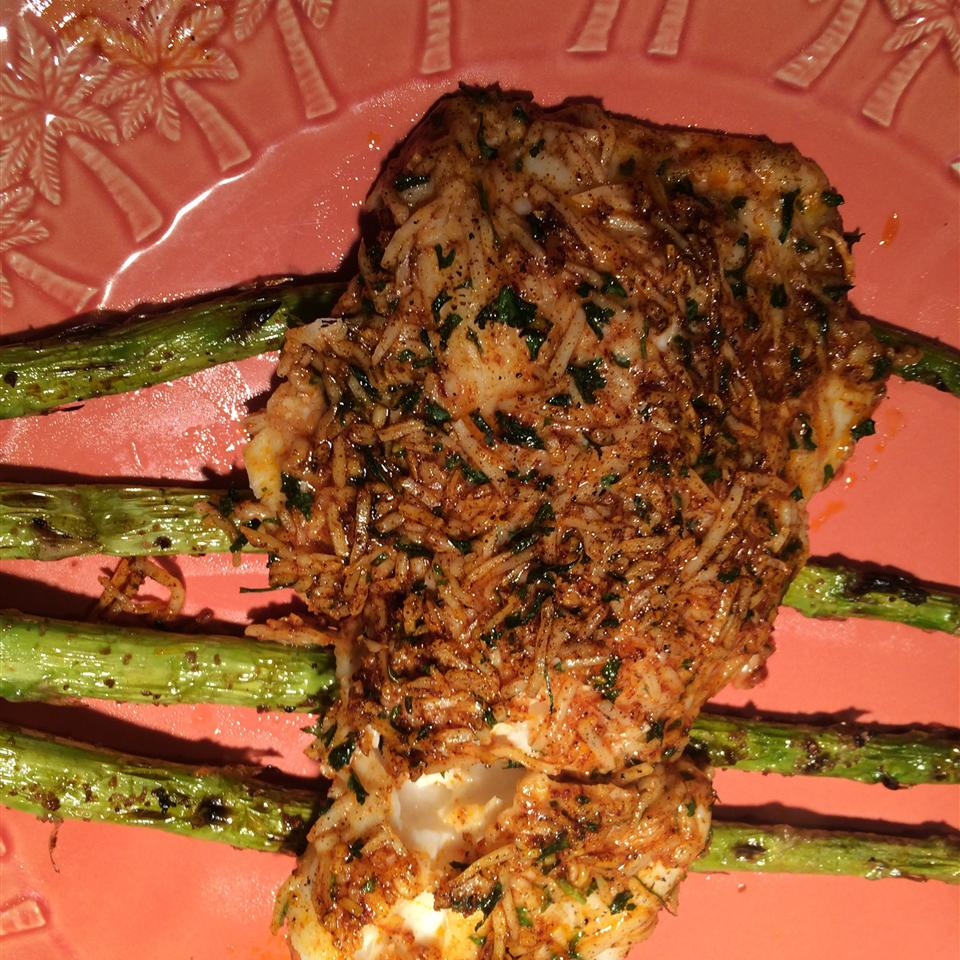 Parmesan Crusted Tilapia Fillets Steve