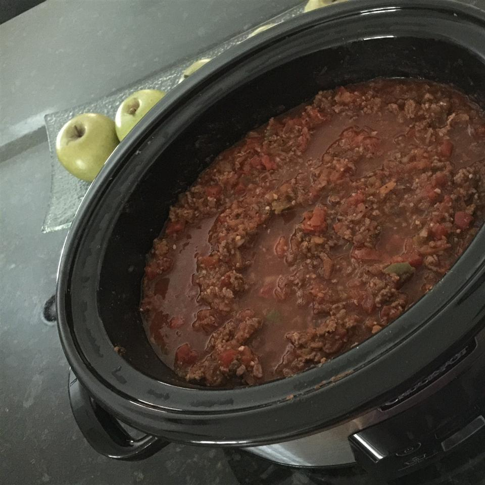 Bacon Chili without Beans