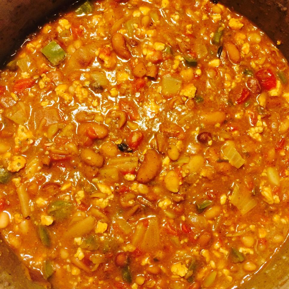Vegan Chunky Chili 100%loved