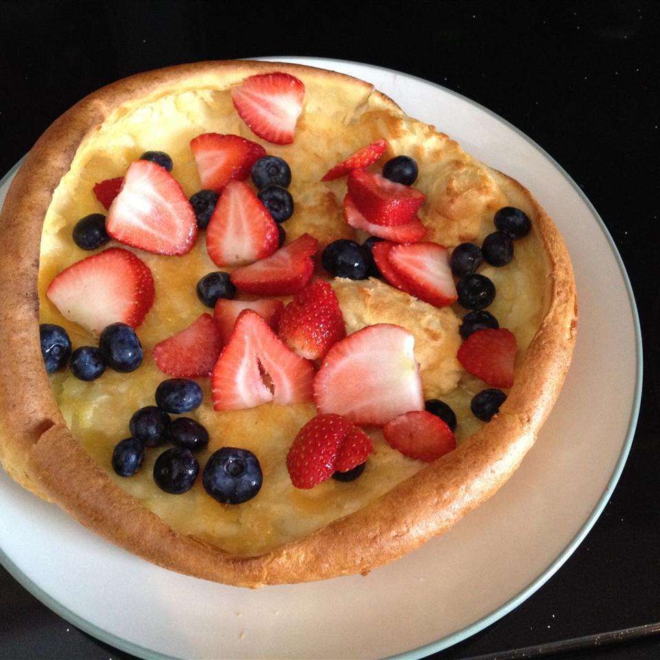 Baked Pancakes cinders