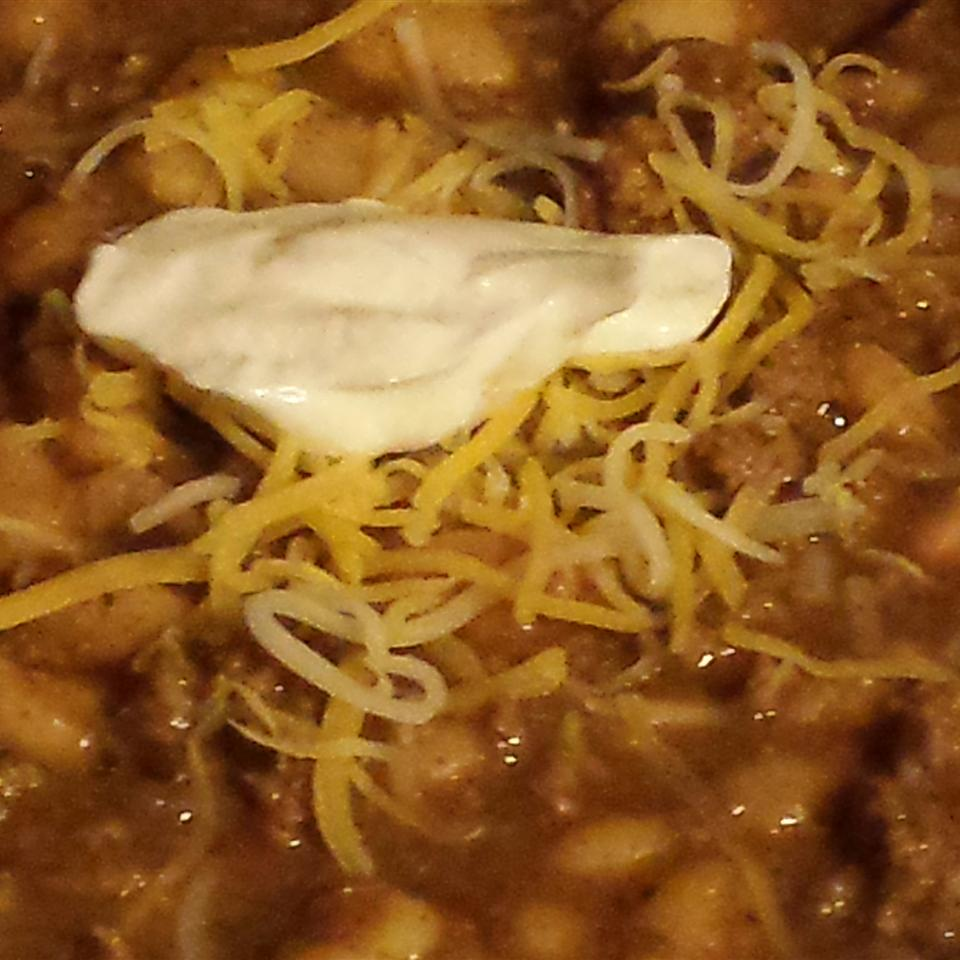 White Chili with Ground Turkey Mrs. Caudill