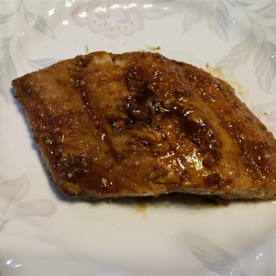 Roast Salmon With Balsamic Vinegar Louis Patterson