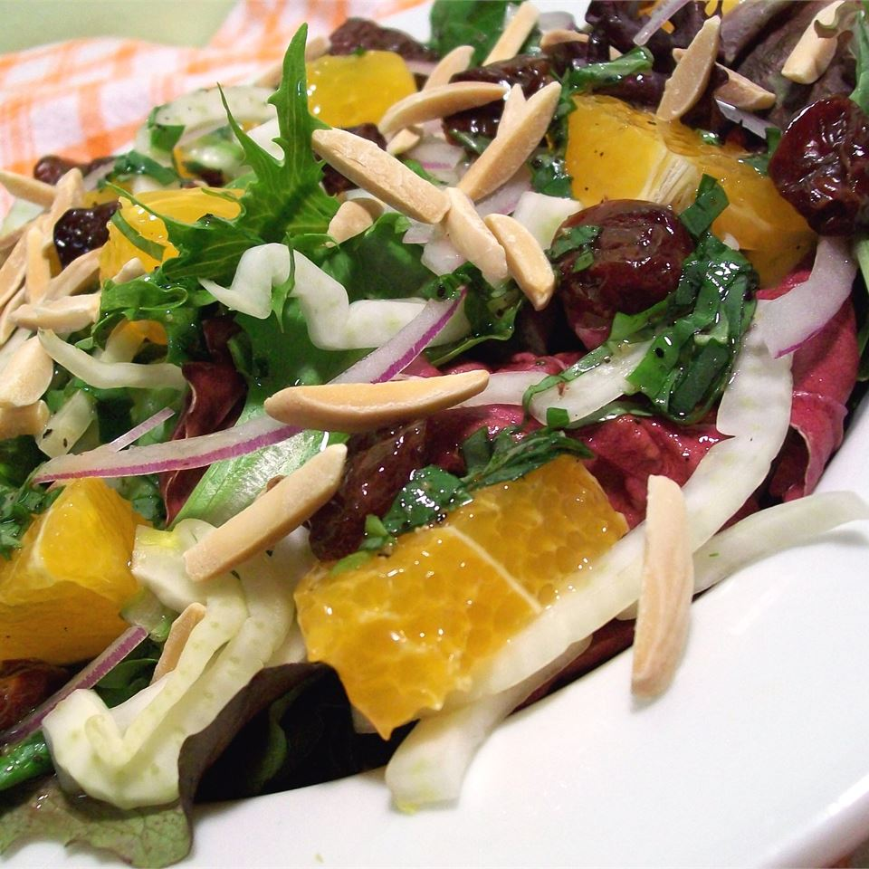 Spring Salad with Fennel and Orange Chef4Six