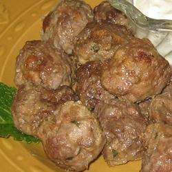 Margaret's Keftedes (Greek Meatballs) Trish Beier