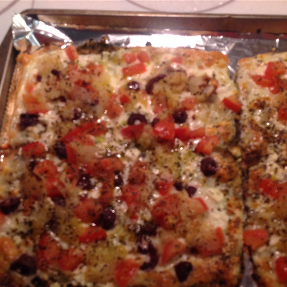 Mediterranean Pesto Pizza Deborah Hite-Santoro