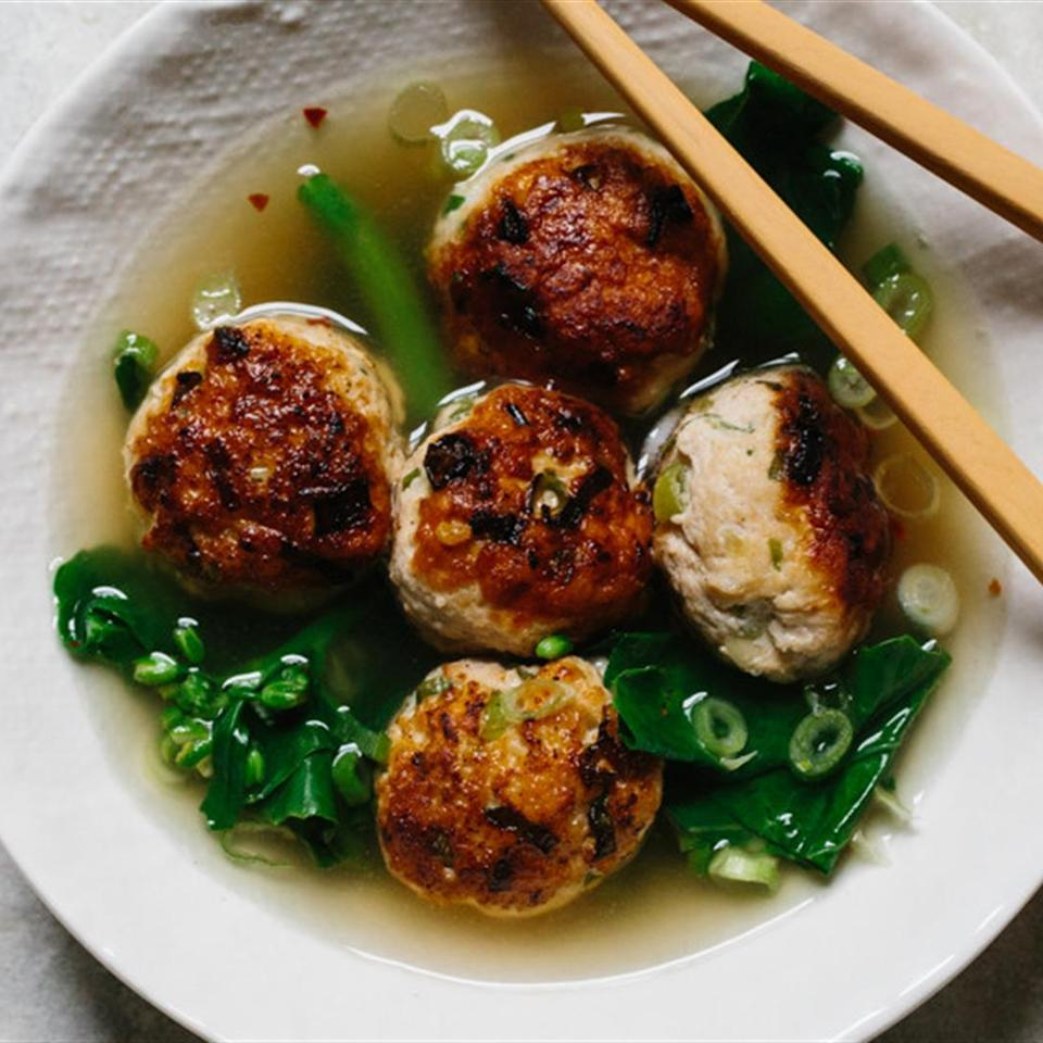 Ginger Chicken Meatballs Sophie Pipilas