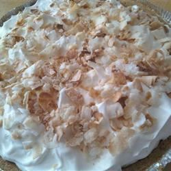 Light Coconut Pie