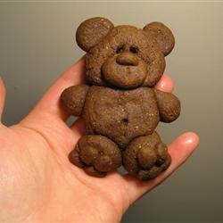 Chocolate Teddy Bear Cookies WannaBeChef