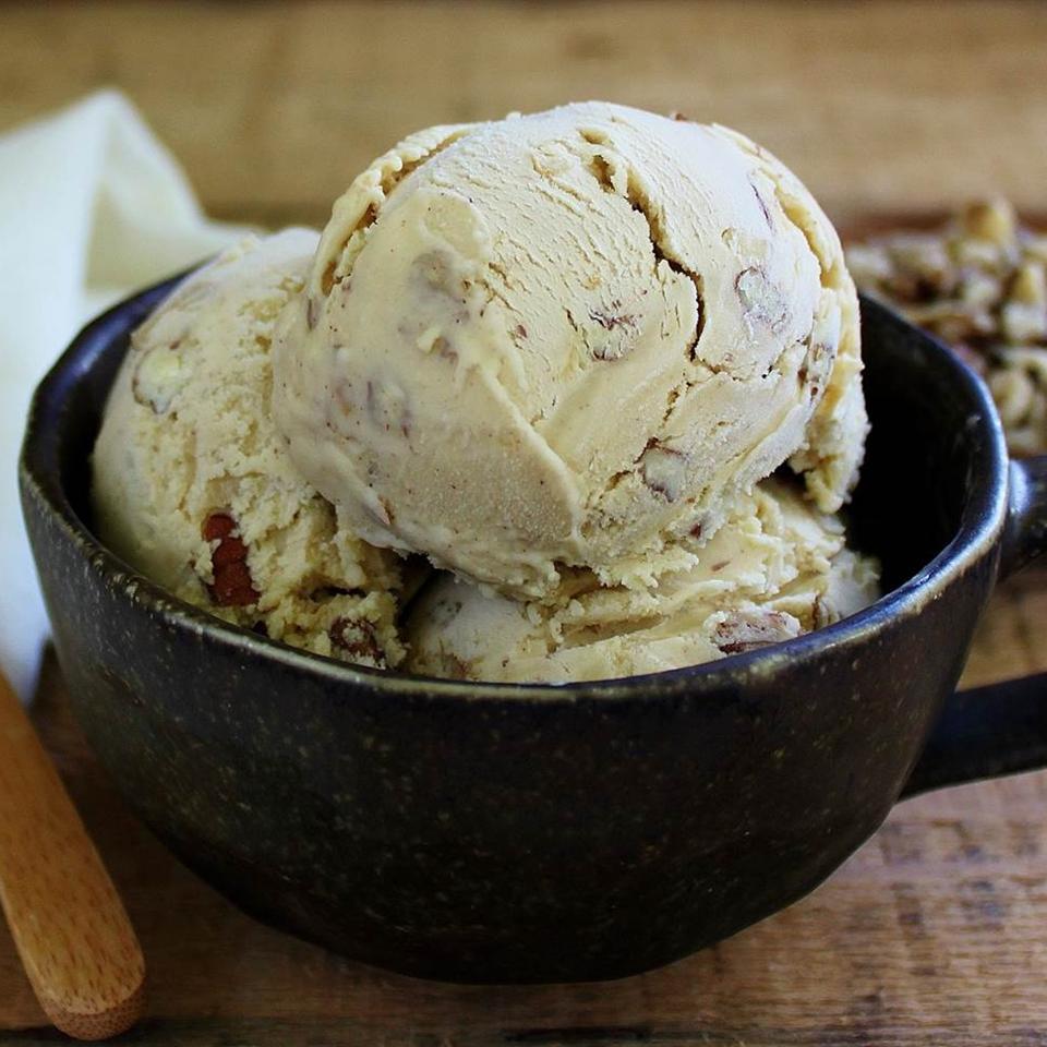 Black Walnut Ice Cream