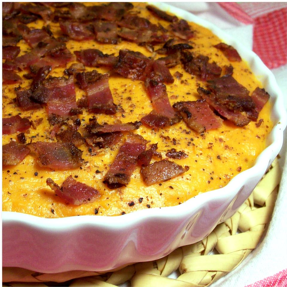 Sweet Potato Casserole with Bacon
