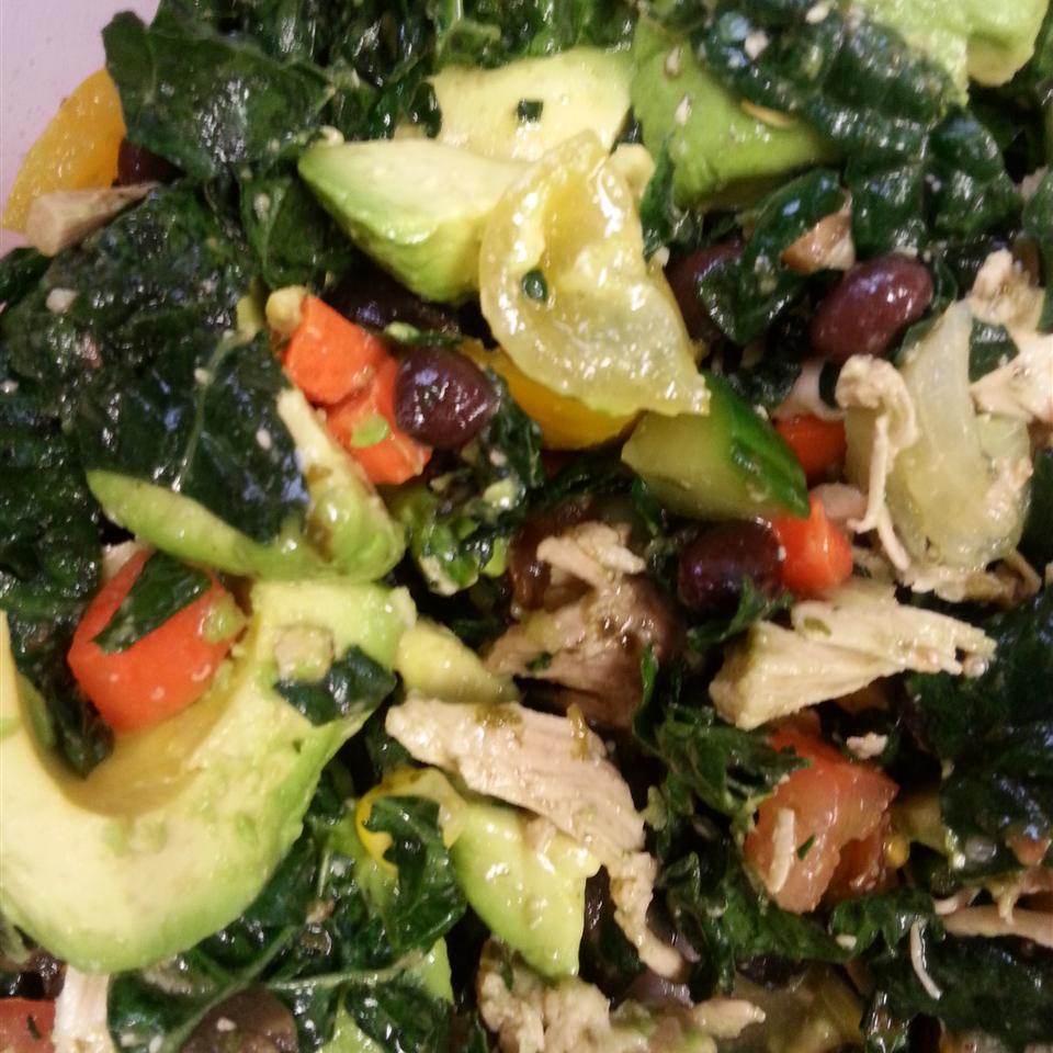 quick smoky kale salad recipe