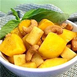 mango cashew salad recipe