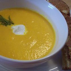 Carrot Soup 'a la Louise'