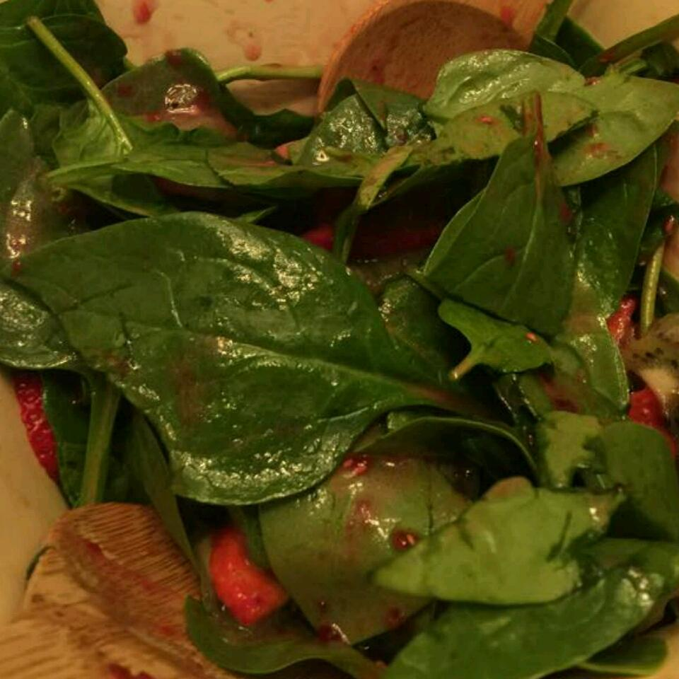 Strawberry, Kiwi, and Spinach Salad