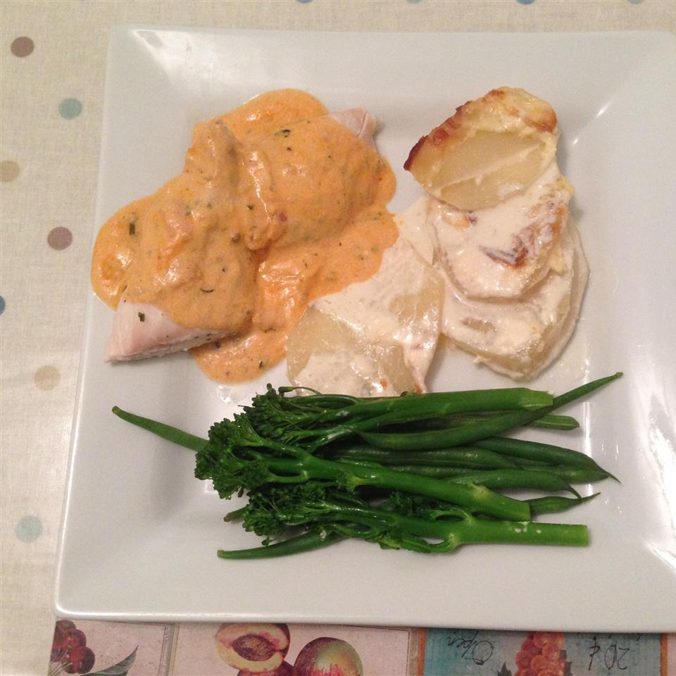 Russian Chicken with Feta Cheese
