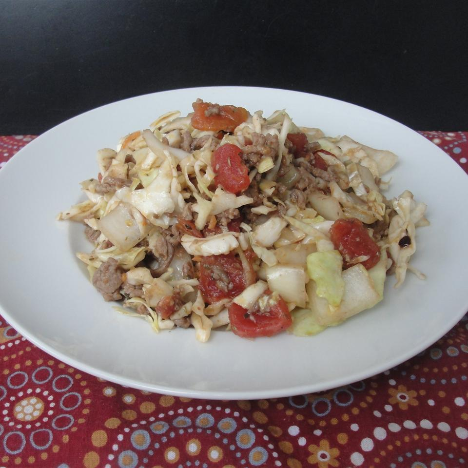 Ground Beef and Chopped Cabbage Rock_lobster