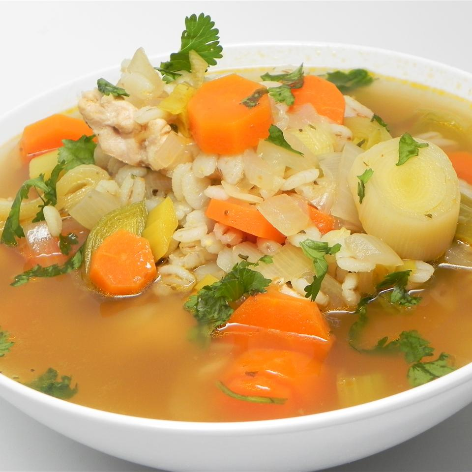 Cockaleekie Soup