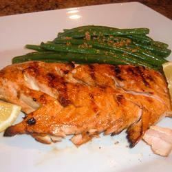 Maple-Soy Glazed Salmon Fit&Healthy Mom