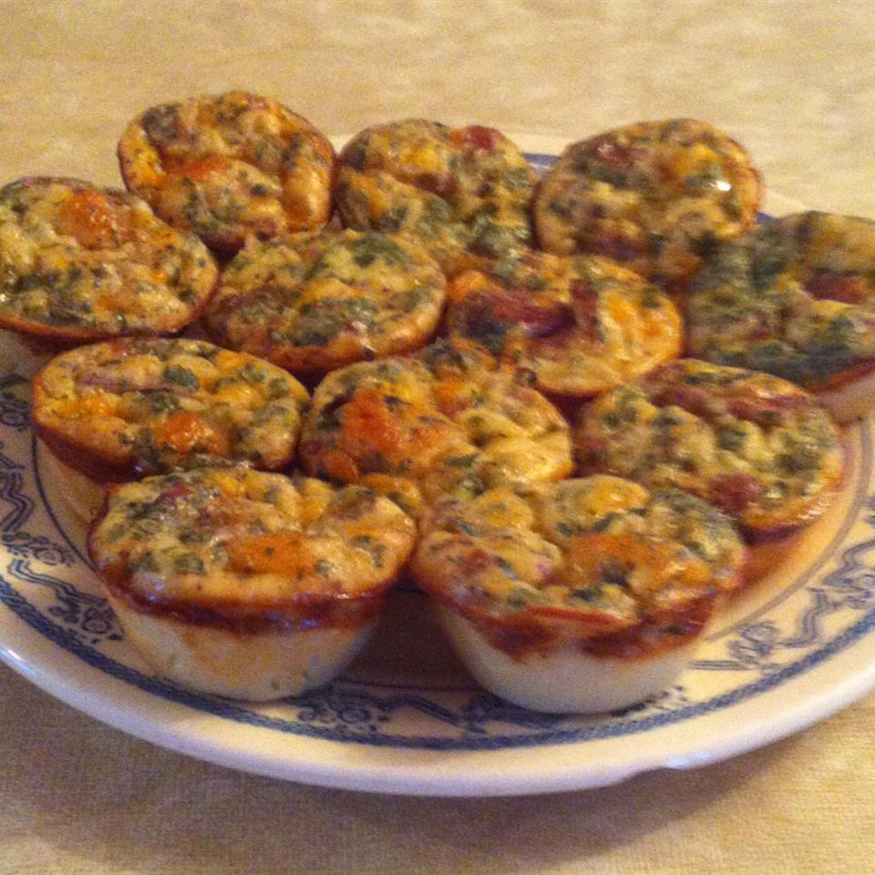 Marvelous Mini Mexican Quiches