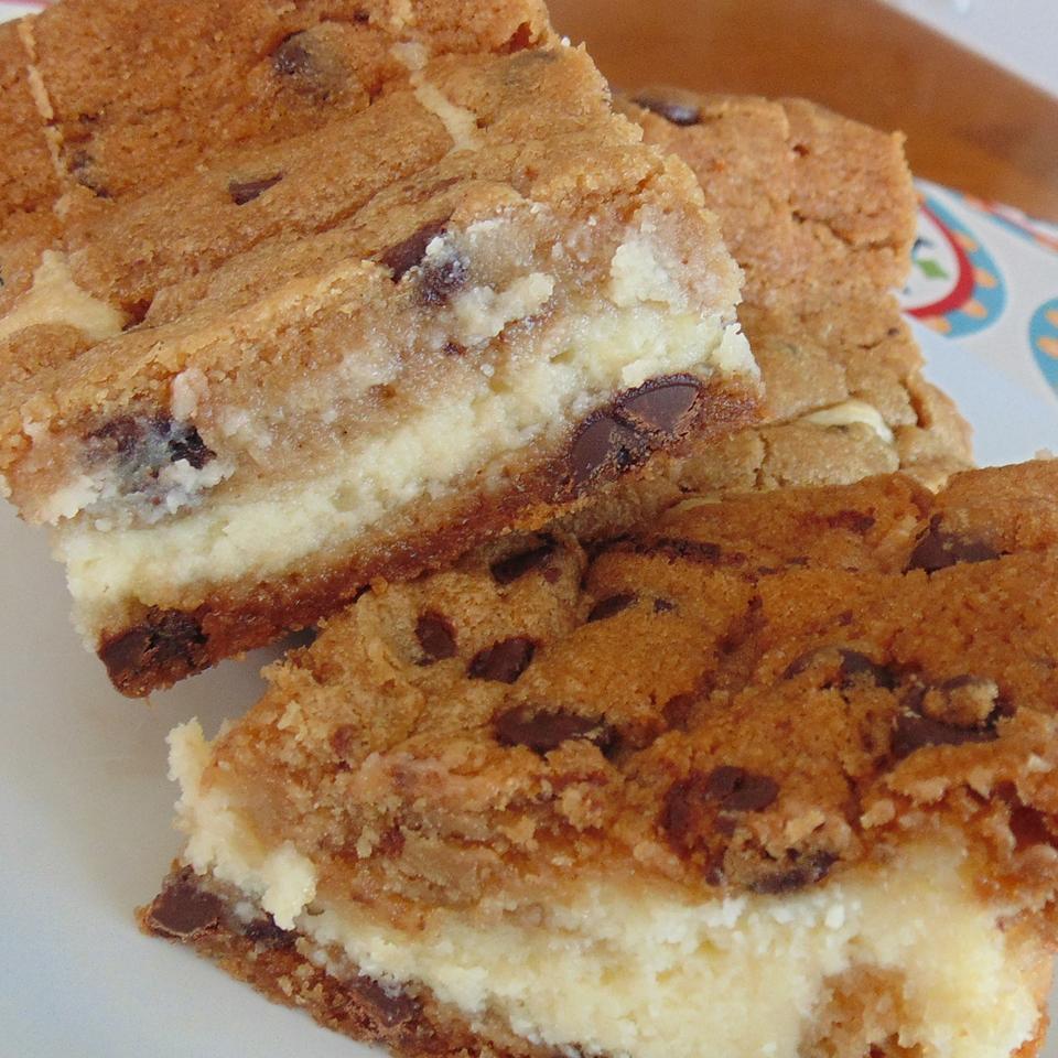 Chocolate Chip Cream Cheese Brownies