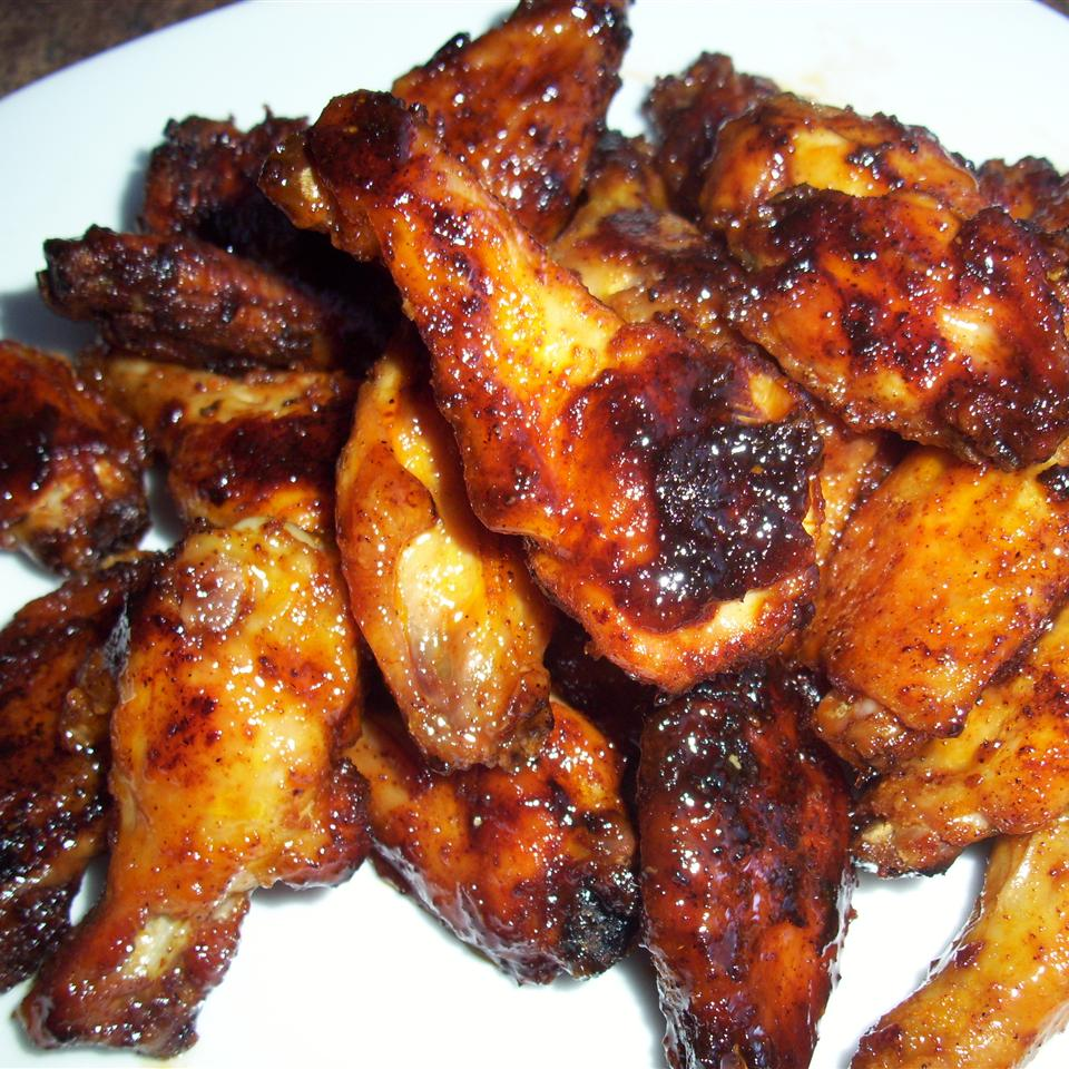 Baked Maple and Chipotle Wings
