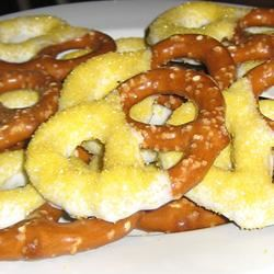 White Chocolate Covered Pretzels jennrmccoy
