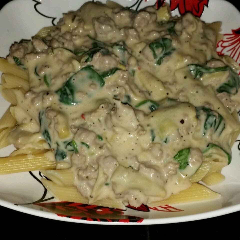 Artichoke Spinach Pasta Sauce dpritch