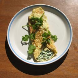 Herbed Cream Cheese Omelet