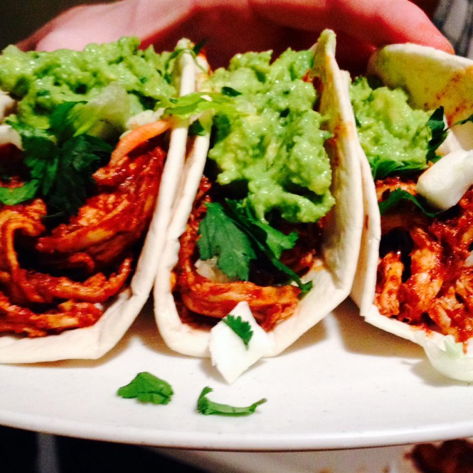 Shredded Chicken Tacos kali