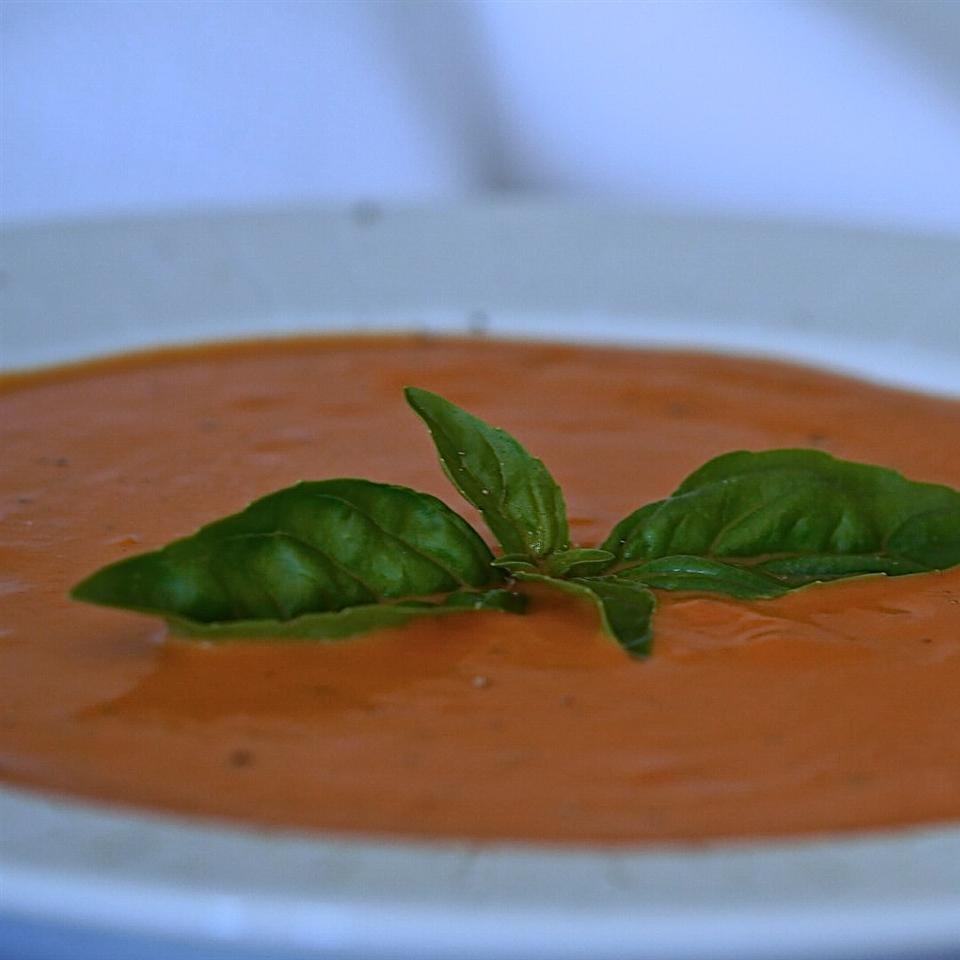 Classic Dairy-Free Cream of Tomato and Basil Soup Only Gluten Free Recipes